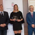 Harmincnégy sportág versenyzőit díjazta az NVESZ