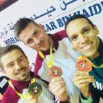 Három magyar karatés érem Dubajban